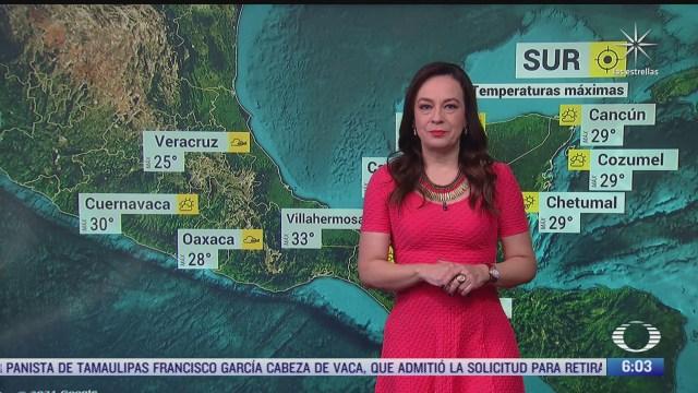 frente frio 39 afectara veracruz oaxaca y chiapas