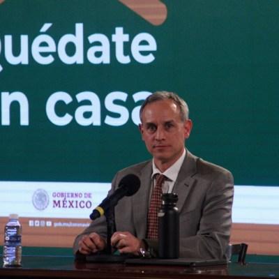 Fotografía de Hugo López-Gatell Ramírez, subsecretario de Prevención y Promoción de la Salud