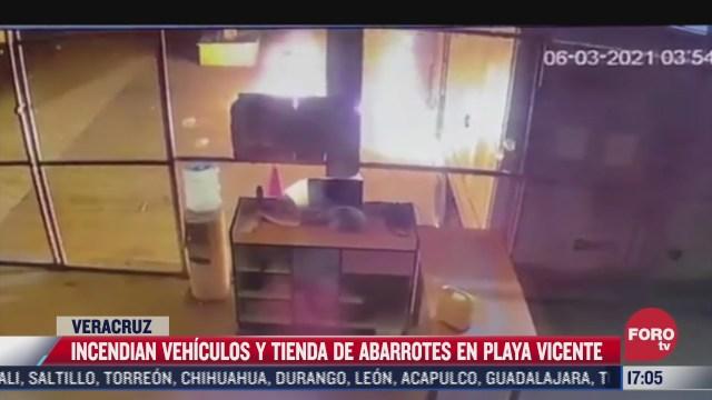 incendian autos de alcalde en veracruz