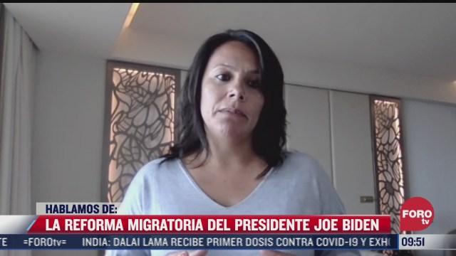 la reforma migratoria del presidente joe biden