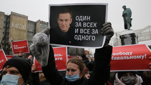 Manifestaciones de apoyo al opositor ruso Alexei Navalny