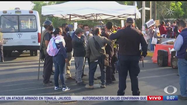 manifestantes bloquen avenida universidad en cdmx