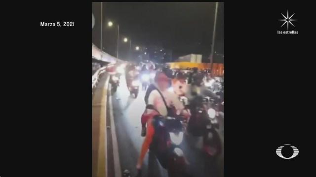 motociclistas de tepito podrian quedar libres tras detencion en rodada