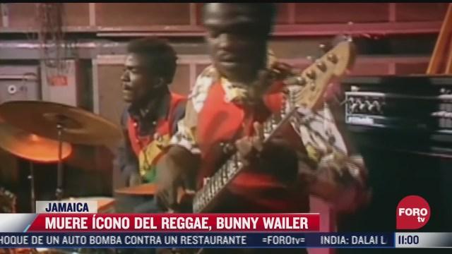 muere bunny wailer icono del reggae