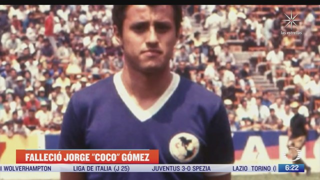 muere jorge coco gomez jugador historico del america