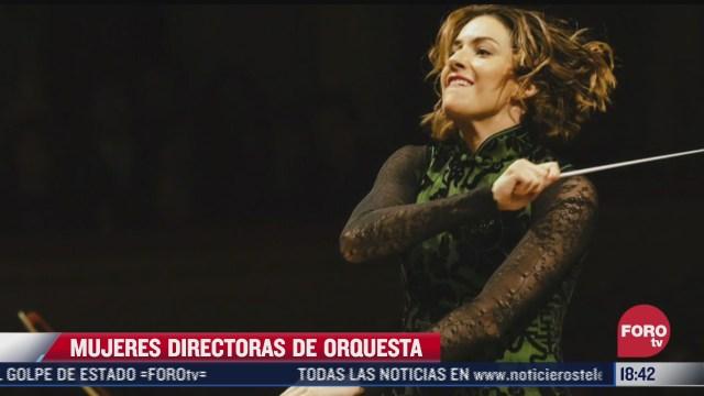 mujeres incursionan en la musica y se convierten en directoras de orquesta