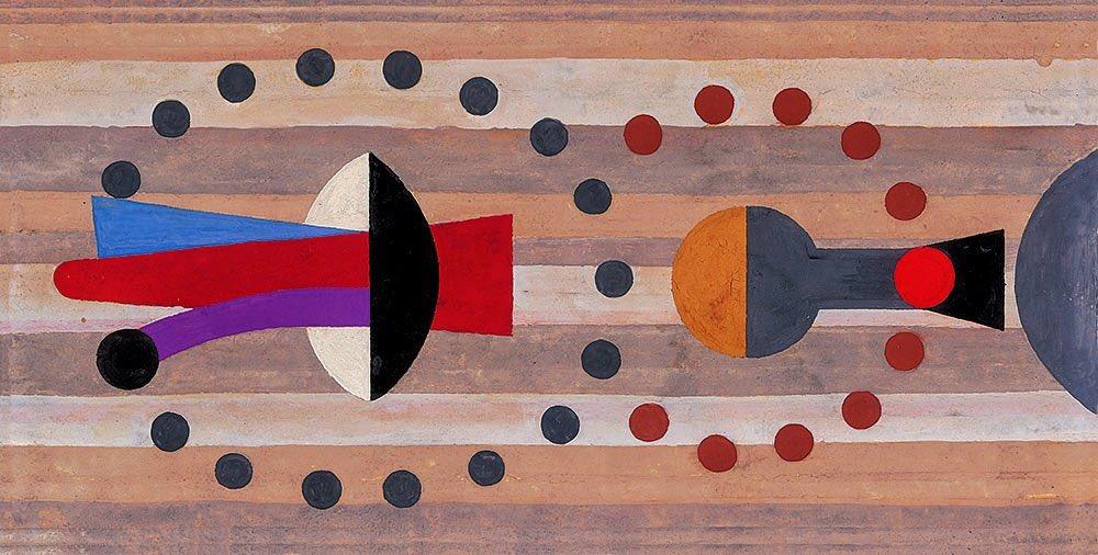Obra de Vicente Rojo, protagonista del movimiento de la Ruptura