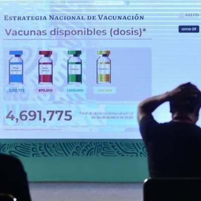 Para lograr inmunidad de rebaño México requiere vacunar al 70% de su población