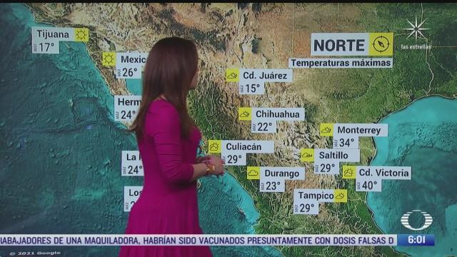 preven bajas temperaturas en zonas montanosas en sonora y chihuahua