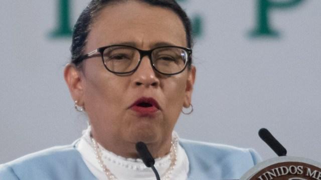 Rosa Icela Rodríguez, secretaria de Seguridad y Protección Ciudadana