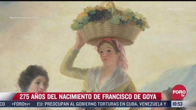 se cumplen 275 anos del nacimiento de francisco de goya