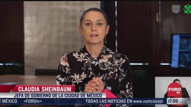 sheinbaum emite mensaje sobre vacunacion en cdmx