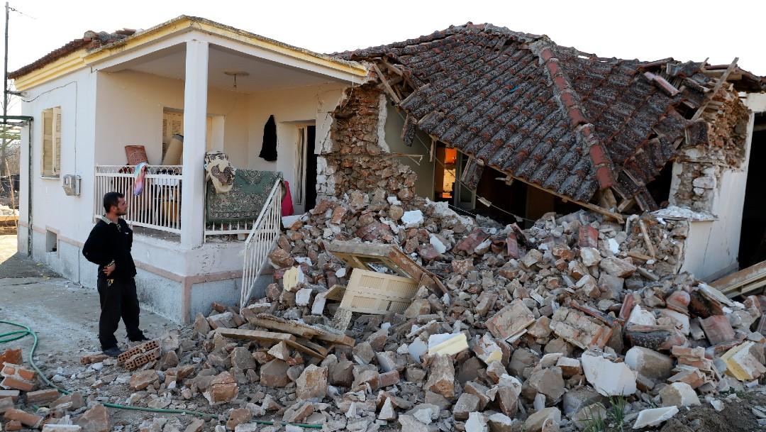 Sismo de magnitud 6.3 sacude el centro de Grecia. FOTO AP