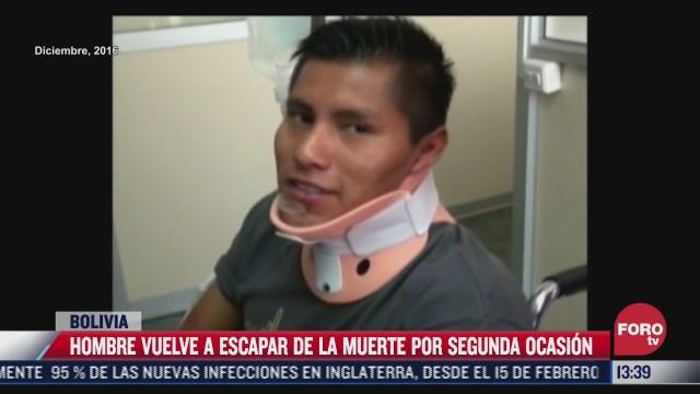 sobreviviente del chapecoense vuelve a salvar la vida en otro accidente