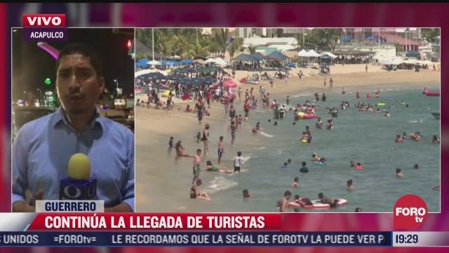 turistas de acapulco guerrero no acatan recomendaciones sanitarias