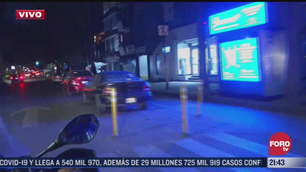 vecinos del eje cinco sur no son alertados por alerta sismica