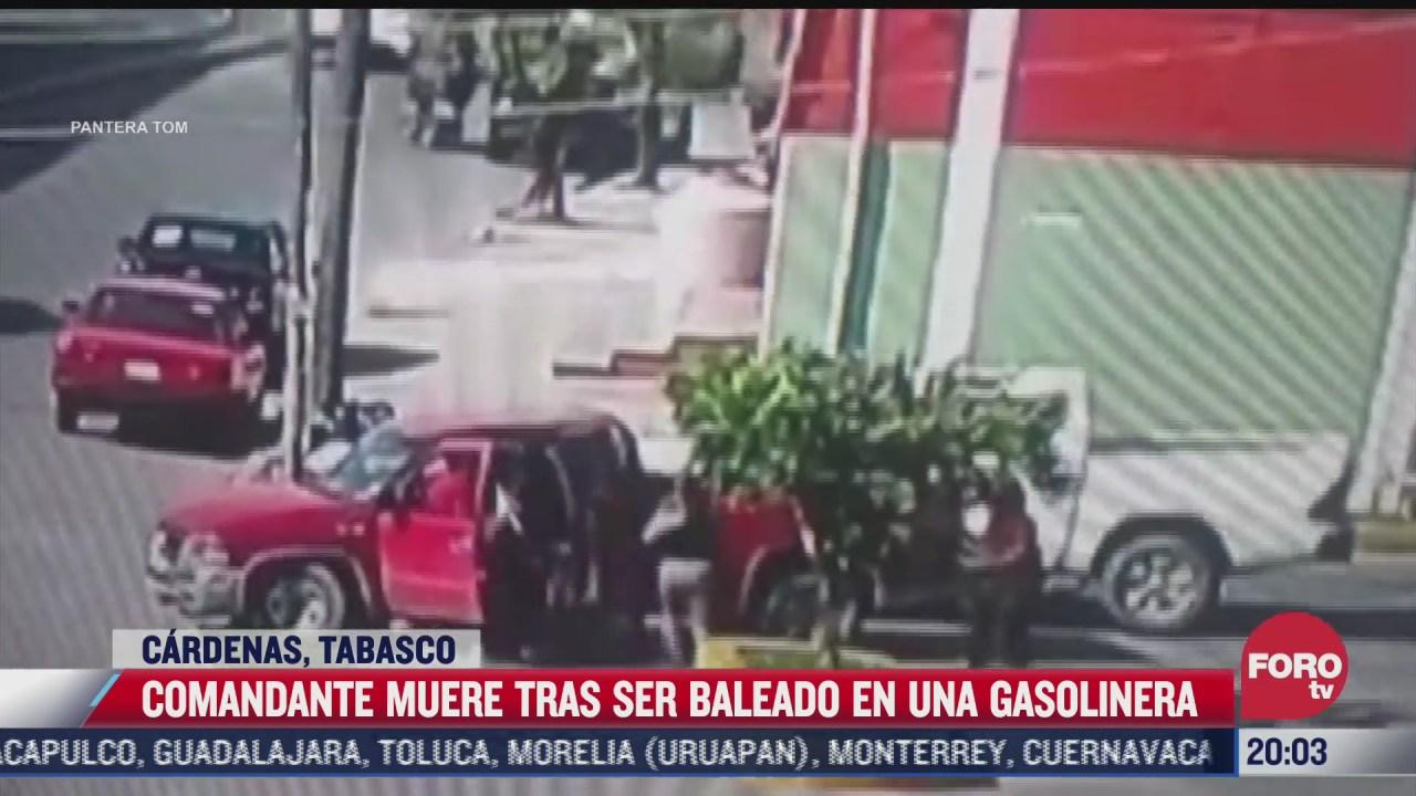 asesinan a balazos a comandante regional de la fiscalia de tabasco