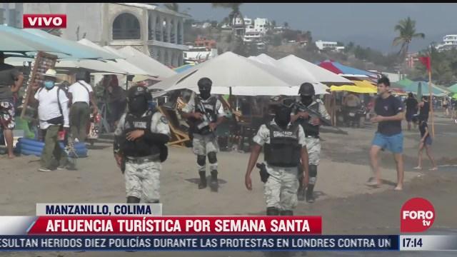 asi lucen las playas en mexico en ultimo domingo de la semana santa