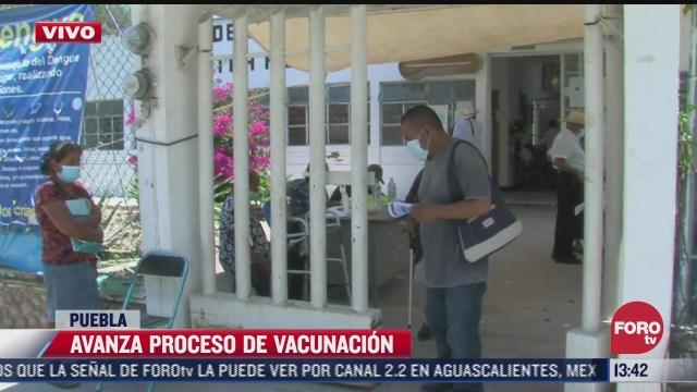 avanza vacunacion covid 19 en puebla