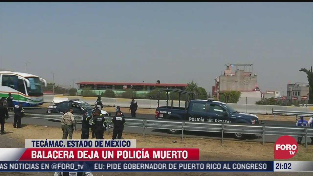 balean a dos policias tras persecucion de vehiculo robado en tecamac