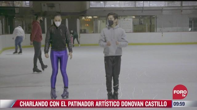charlando con el patinador artistico donovan carrillo parte