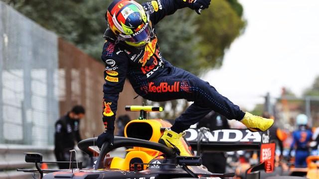 El piloto mexicano de F1, Sergio Pérez (Getty Images)