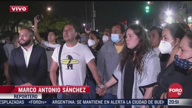 ciclistas protestan en fiscalia de azcapotzalco por muerte de menor atropellado