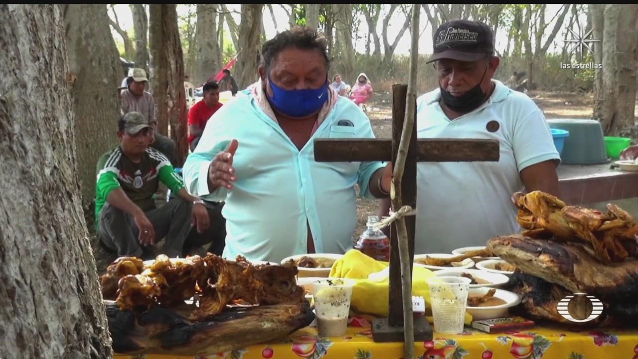 comunidades mayas de campeche se preparan para la epoca de siembra