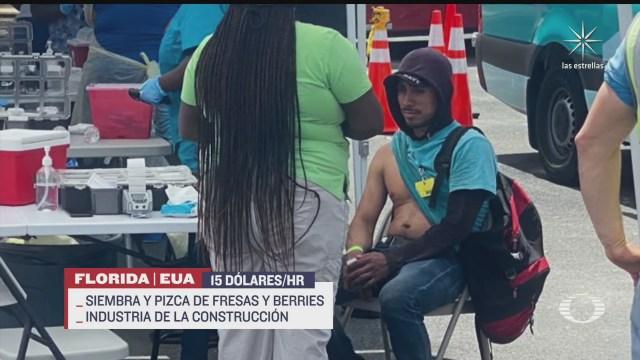 eeuu vacunara trabajadores temporales mexicanos