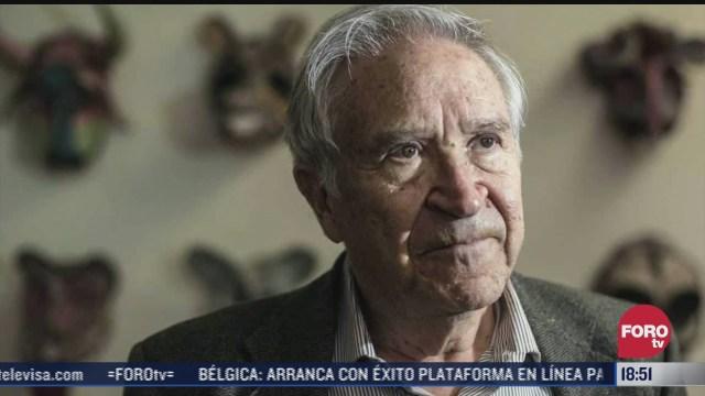 el escritor mexicano homero aridjis cumple 81 anos