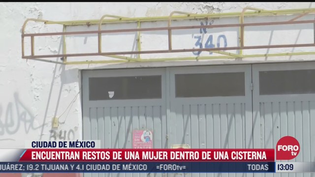 encuentran restos de una mujer dentro de una cisterna en iztapalapa