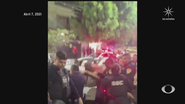 enfrentamientos y abuso policial en iztapalapa