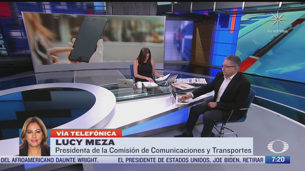 entrevista a la senadora lucy meza sobre el padron nacional de usuarios de telefonia movil