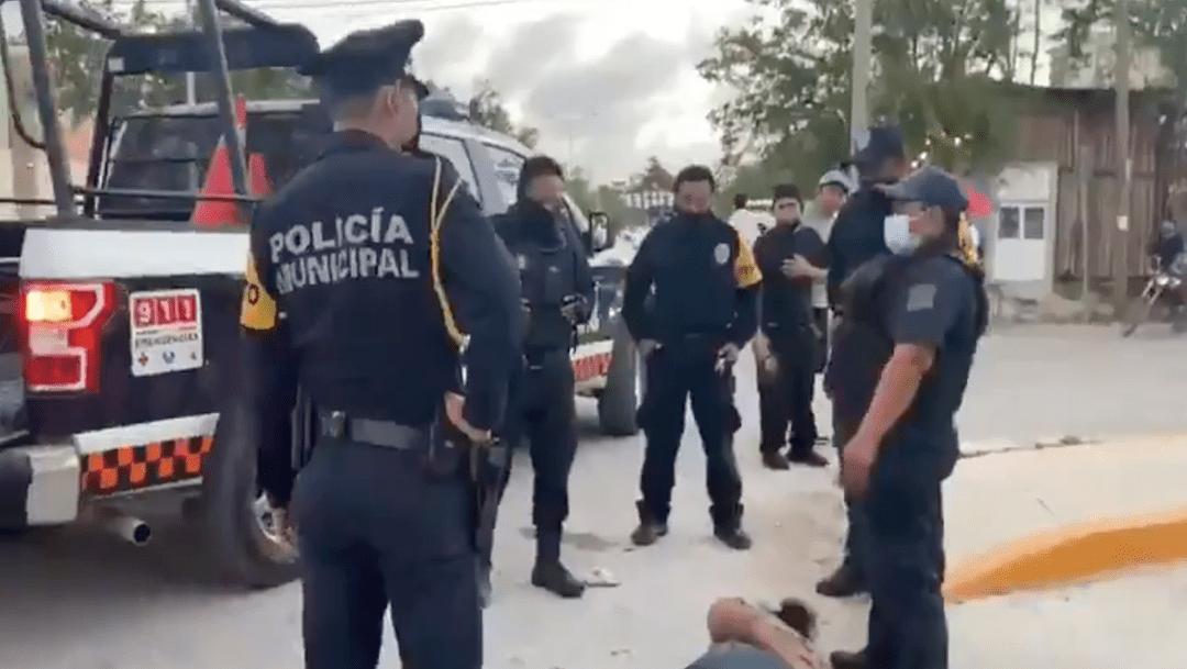 Eran 6 policías en arresto de Victoria en Tulum: testigos – Noticieros  Televisa