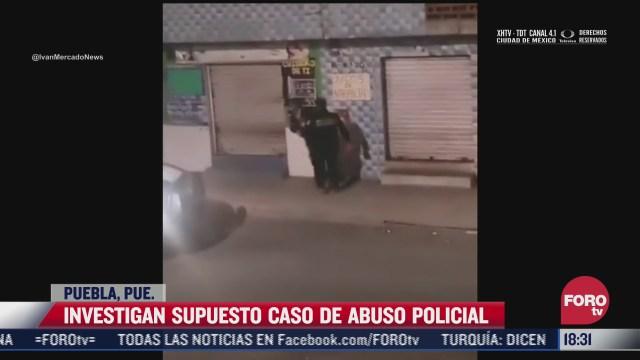 exhiben nuevo caso de presunto abuso policial en puebla