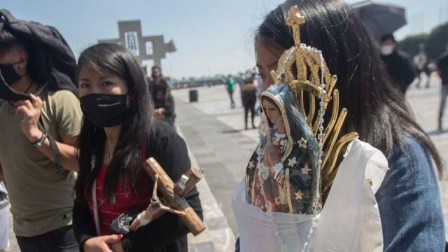 Fieles acuden a la Basílica de Guadalupe en la CDMX (Cuartocuro, archivo)