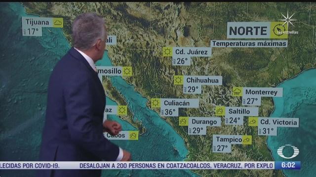 frente frio 51 provocara lluvias fuertes en mexico