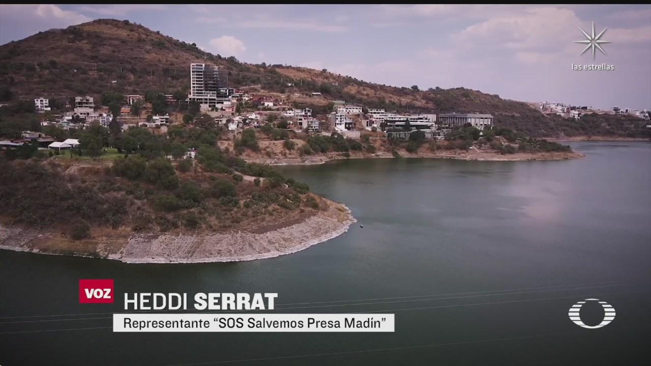 gobierno de la cdmx construira planta potabilizadora desde la presa madin