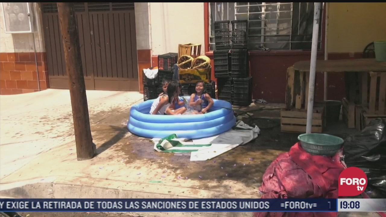 implementan operativo para evitar desperdicio de agua por sabado de gloria en cdmx