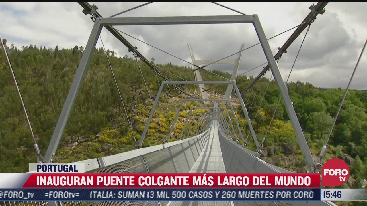 inauguran puente mas largo del mundo