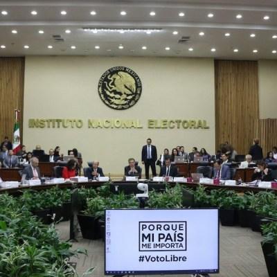 Sesión del Instituto Nacional Electoral (INE) (Cuartoscuro, archivo)