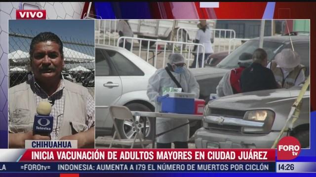 inicia campana de vacunacion contra el covid 19 en chihuahua