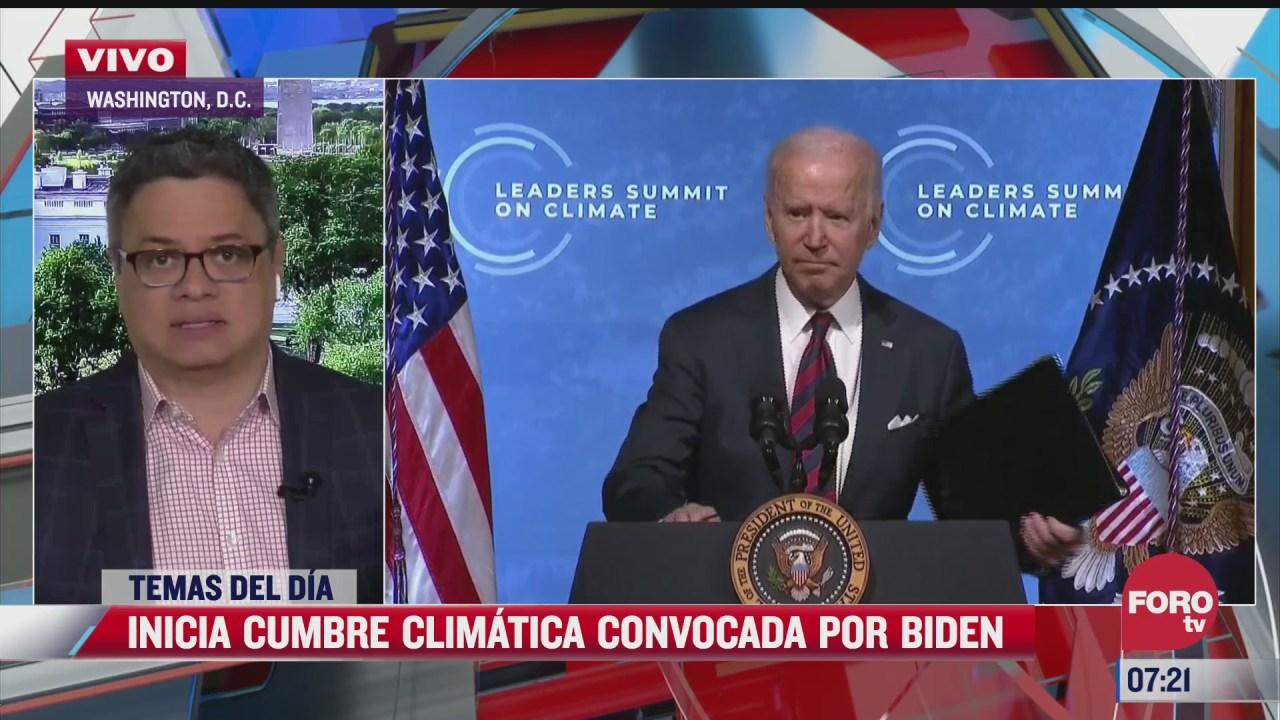 inicia cumbre climatica convocada por joe biden