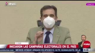 iniciaron las campanas electorales en mexico