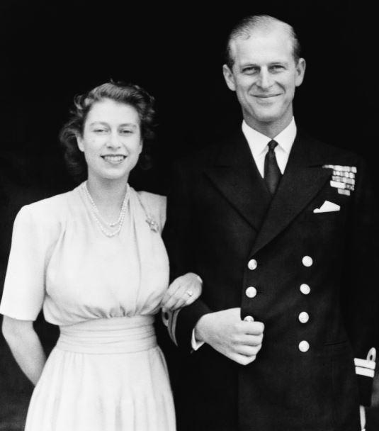 Isabel y Felipe en 1947
