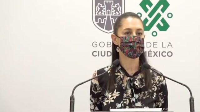 La jefa de Gobierno de la CDMX, Claudia Sheinbaum, miércoles 7 de abril de 2021 (Gobierno CDMX)