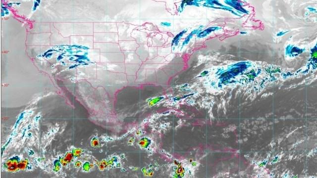 Se pronostican lluvias en Chiapas y Yucatán (Twitter: @conagua_mx)