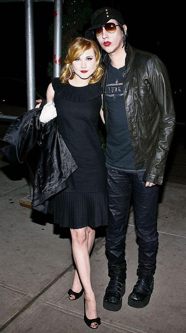 Marilyn Manson Evan Rachel Wood