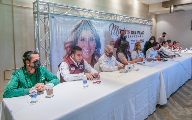 Evento Baja California Integrantes Morena