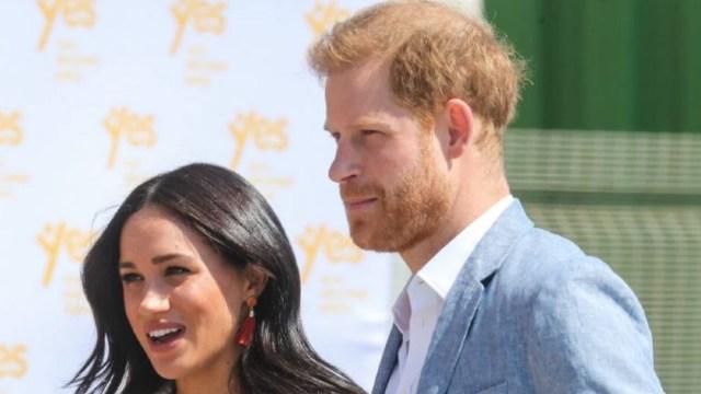 Meghan Markle y su esposo Harry